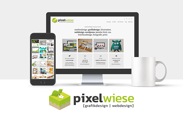 Grafik Webdseign pixelwiese